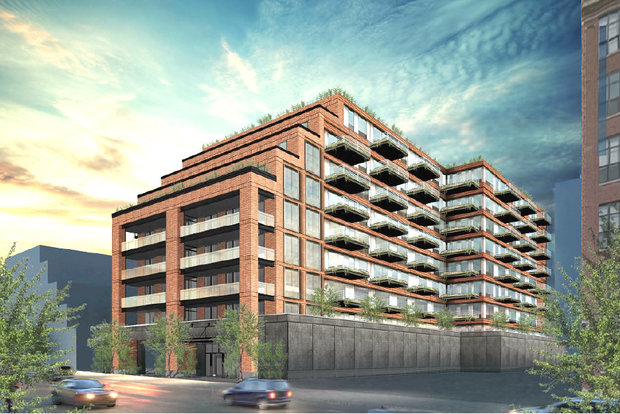 Ald. Walter Burnett Jr. has approved plans for a nine-story plus penthouse condo building at 111 S. Peoria St. in the West Loop.