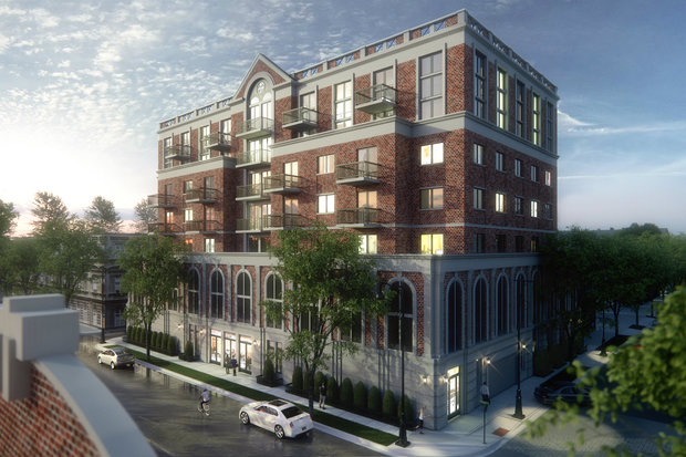 Changes to the building's original design include a larger lobby, an