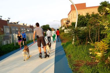 The 606 Bloomingdale Trail had more than 1 million visitors last year.