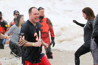 Ald. Matt O'Shea (19th) ran the Chicago Marathon in four hours, 32 minutes and 17 seconds. He also participated in the Chicago Polar Plunge.
