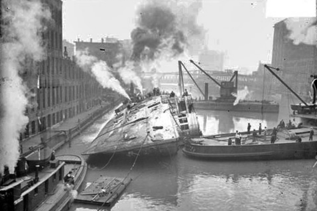 The Eastland disaster on July 24, 1915, left 844 people dead. One hundred years later, 16 of the victims lay buried in five cemeteries throughout the 19th Ward.