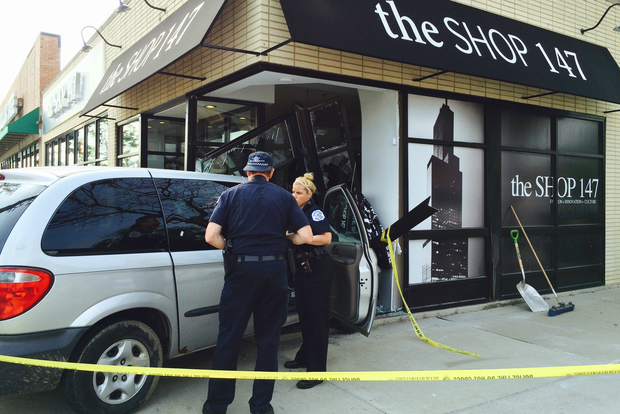 Police are investigating after two men tried a smash-and-grab burglary at Shop 147 in Beverly early Thursday morning.