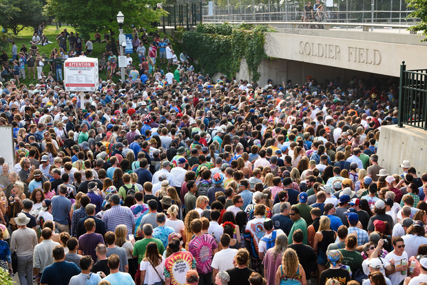 Cooling Buses, Anti-Crowding Measures in Effect for Grateful Dead