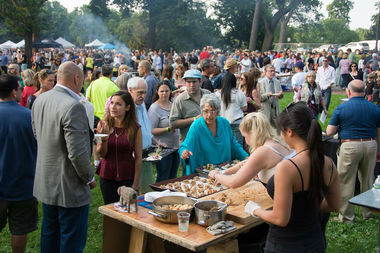 The annual Green City Market Chef BBQ is set for July 20.