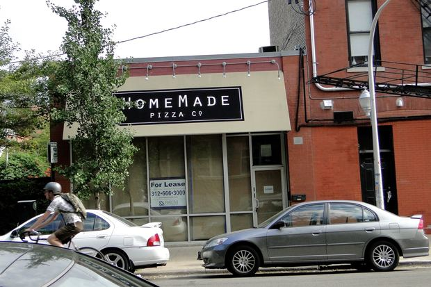 Homemade Pizza company, 1953 W. Wabansia, will be replaced with a menswear store.