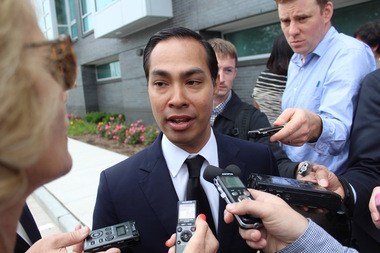 HUD Secretary Julian Castro said Wednesday that Mayor Emanuel has provided a plan to spend $440 million in savings.