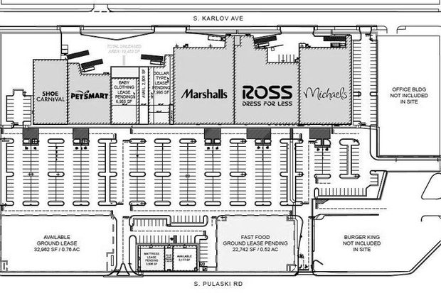 New Strip Mall Stores Include Marshall S Michael S Ross