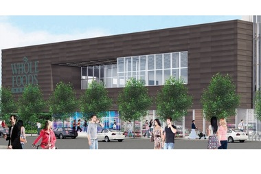 New renderings for a proposed Whole Foods at 3201 N. Ashland Ave. are dating July 1 and were posted by the 44th Ward shortly before a July 7 presentation.