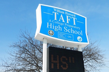 Taft High School.