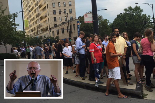 Hundreds wait in line for bernie sanders meet and greet in lincoln hundreds lined up monday for a meet and greet with democratic presidential hopeful sen m4hsunfo