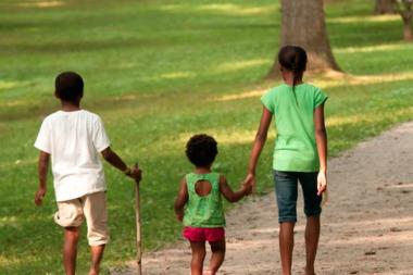 Chicago's poor blacks are isolated in poor neighborhoods.