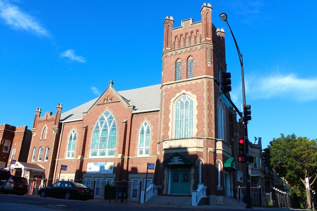 A 107-year old church at Wrightwood and Kimball is being transformed