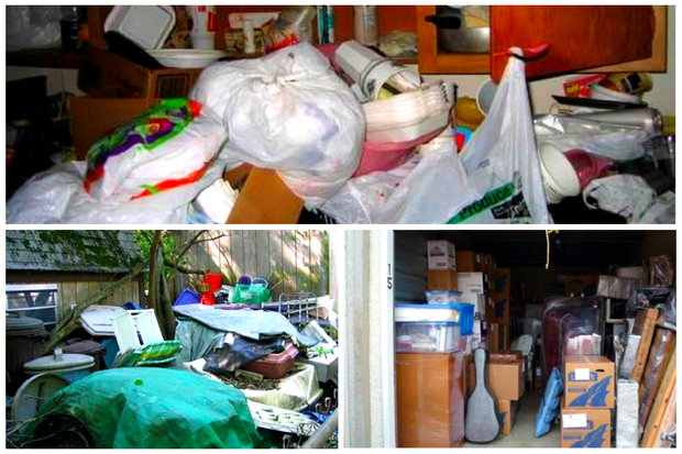 A slideshow presented to North Side residents from the city's public health department help spell out some of the signs, symptoms and motivations behind different types of hoarding.