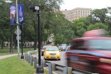 Stony Island Avenue and Lake Shore Drive will need to be widened if Cornell and Marquette drives in Jackson Park are closed, the city's Transportation Department said Wednesday.