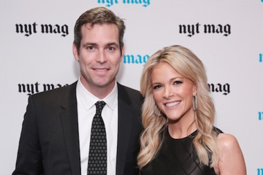 Megyn kelly with her current husband douglas brunt a former private