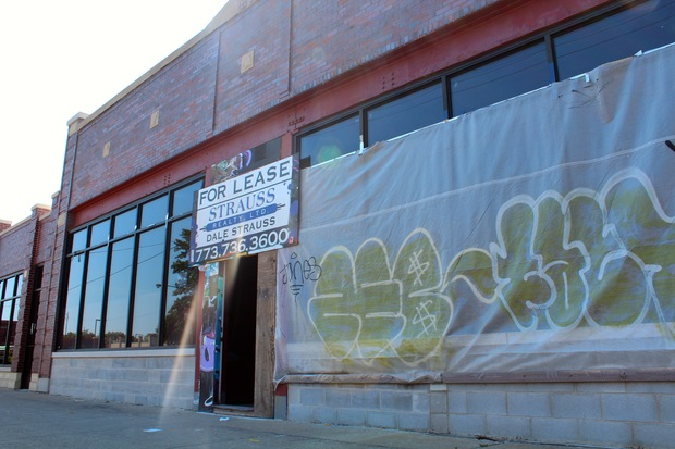 Modern Cannabis began construction on its Logan Square medical marijuana dispensary this week at 2847 N. Fullerton Ave.