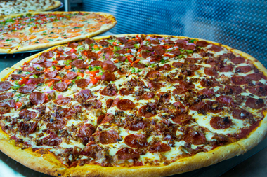 Slice Factory Home Of 30 Inch Jumbo Pizza Pies Opens In