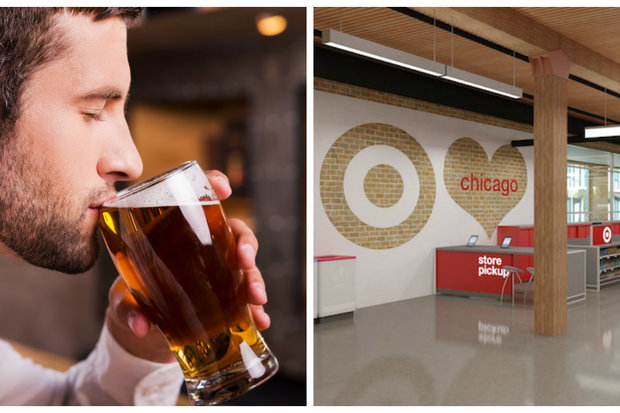 The Streeterville Target has applied for a liquor license. It would be the first Target in the nation to serve alcohol.