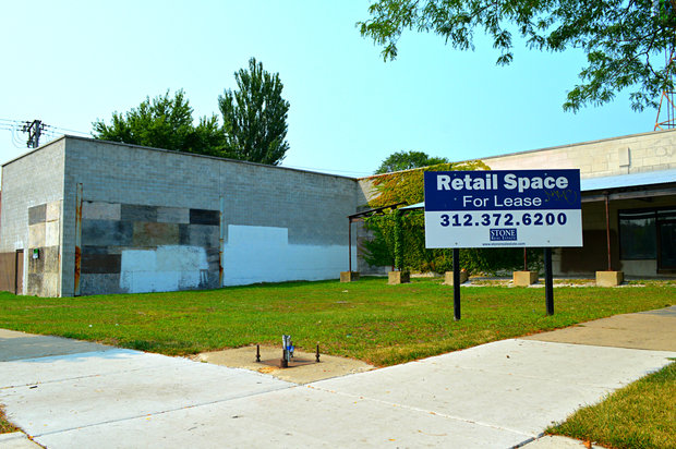 What will become of the now demolished portion of the 6800 block of North Western?
