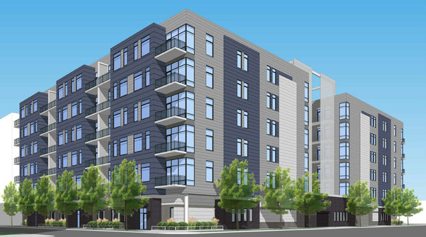 Belgravia Group plans to build 70 condo units at Washington and Aberdeen in the West Loop. The site currently houses A&A Automobile Service, a longtime West Loop auto shop.