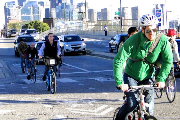 Should bicyclists abide by the same traffic laws as motor vehicles at intersections? A new study from DePaul University suggests they shouldn't always have to.