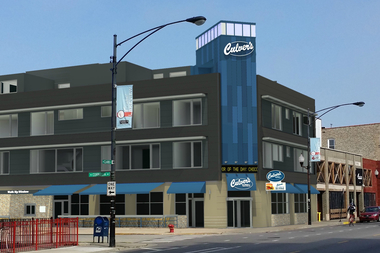 Construction on a mixed-use building anchored by the city's first Culver's was first expected to break ground by the end of 2015.