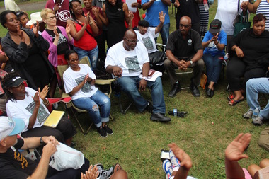 Dyett activists  said a 19-day hunger strike would go on until CPS opened to ongoing input from communtity groups