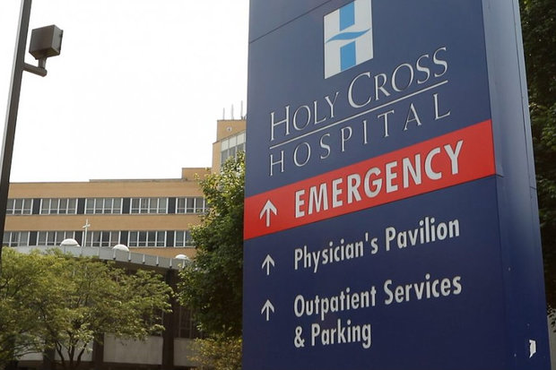 The new $40-million facility at Holy Cross Hospital will be the only adult trauma center on the South Side.
