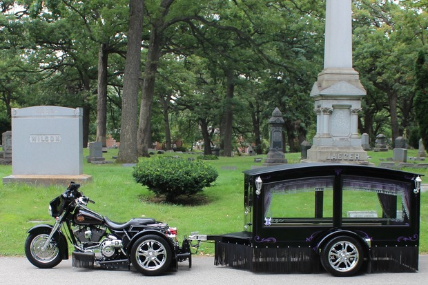 This Motorcycle Drawn Hearse Is A Better Way To Bury Bikers Mt