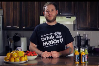 Kyle Janis is launching a Malört hot sauce.