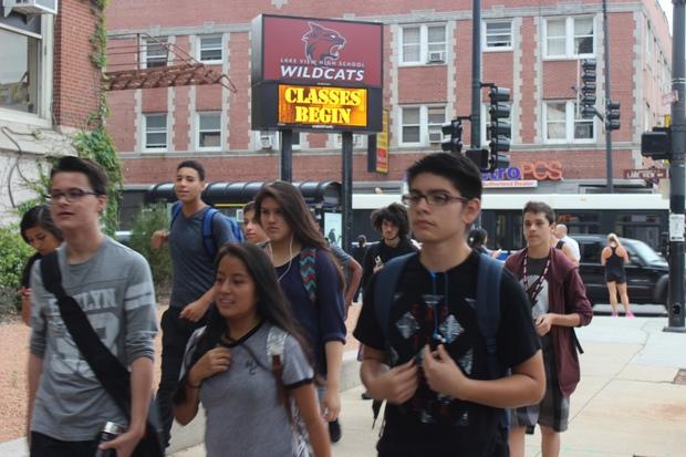 two lake view high school admins depart two weeks before