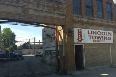 Lincoln Towing on Clark Street.