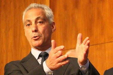 Mayor Rahm Emanuel is backing a rebate program after an almost $600 million increase in property taxes.