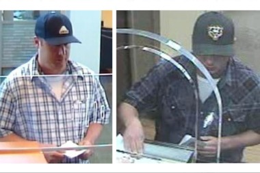 The FBI is offering a reward for anyone with information that leads to the arrest of this man, who authorities believe robbed three banks in August and September.