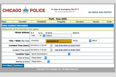 Police Website Glitch That Made It Hard to Report Crimes