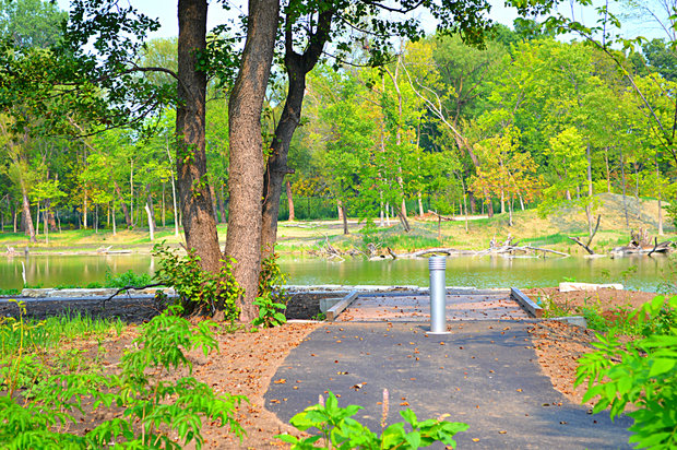 Construction is currently underway at the West Ridge Nature Preserve, where Peterson and Western Avenues meet. The 20-acre park will have fishing holes, kayaking, a boardwalk, walking trail and more.