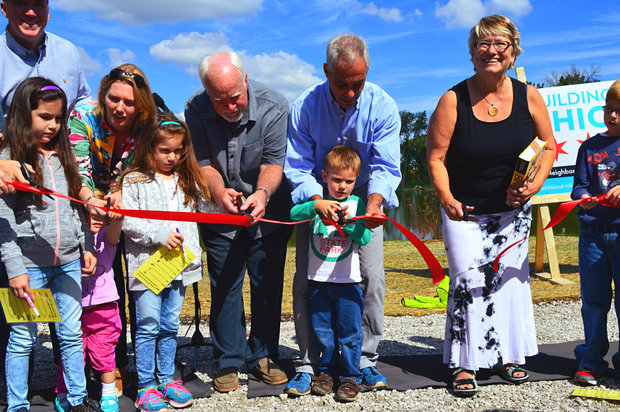 The much-anticipated West Ridge Nature Preserve opened Sunday.
