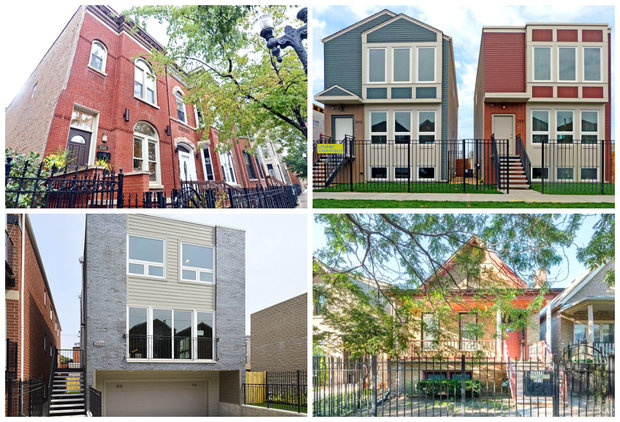 This near west side neighborhood has the inventory young for Modern homes for sale chicago