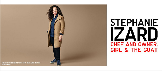 From left: Uniqlo USA CMO Justin Kerr, Chicago Store Manager Stephanie ...