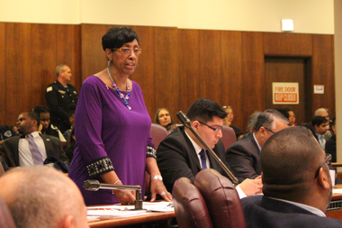 Ald. Carrie Austin called on her City Council colleagues to be