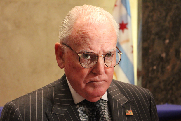 Ald. Edward Burke warned the city could have to pay even more if Gov. Bruce Rauner doesn't sign a relief bill in the General Assembly.