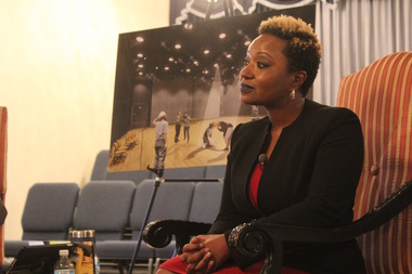 New Dyett Principal Beulah McLoyd has tried to bring in hunger strikers and other critics about reopening the school.