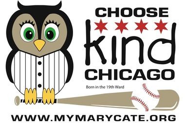 Mary Cate Lynch, of Beverly, will throw out the first pitch at the White Sox game on Sunday. Choose Kind Chicago, an event featuring the 3-year-old girl, her mom and author R.J. Palacio will be held on Oct. 17 at Mother McAuley Liberal Arts High School in Mount Greenwood.