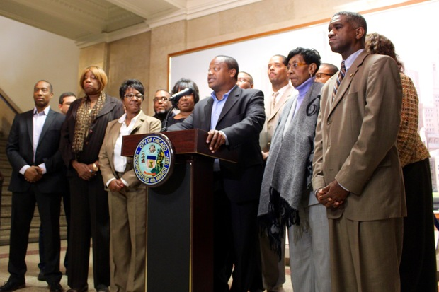 Black Caucus Chairman Ald. Roderick Sawyer leads the call for Police Supt. Garry McCarthy to be fired.