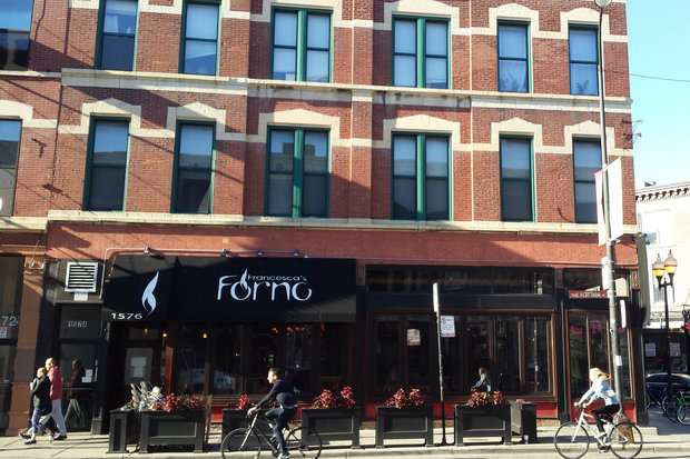 Francesca's Forno, 1576 N. Milwaukee Ave., closes after Sunday.
