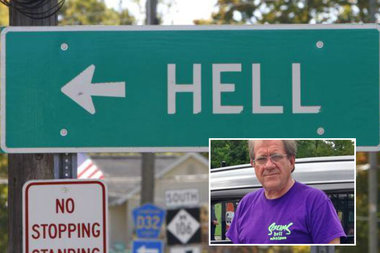 Hell, Michigan is a real place, led by its