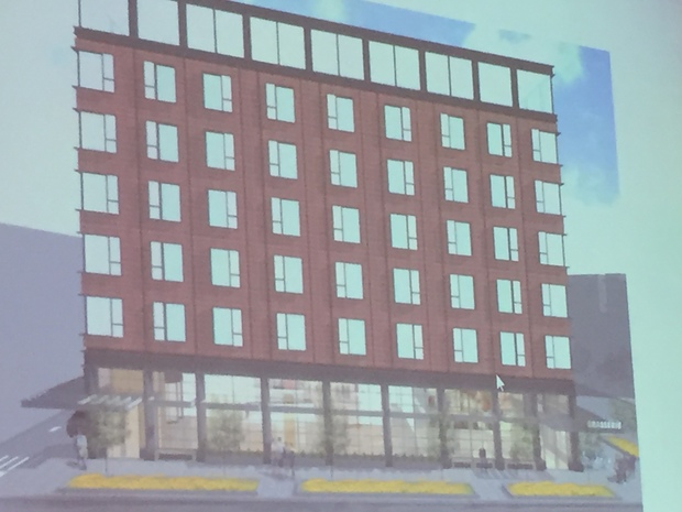 A hotel is planned for Hyde Park.