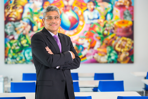 Juan Salgado, president and CEO of Instituto del Progresso Latino, was awarded a MacArthur Genuis Grant for his work in educating immigrant communities.
