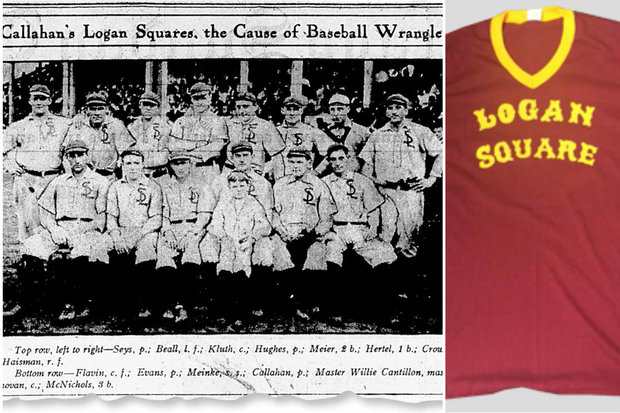 The Logan Squares beat the White Sox and Cubs after they played in the 1906 World Series.