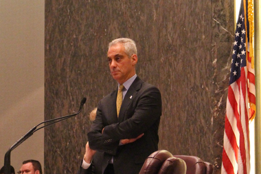 Mayor Rahm Emanuel's 2016 budget was deferred as a procedural matter Wednesday.